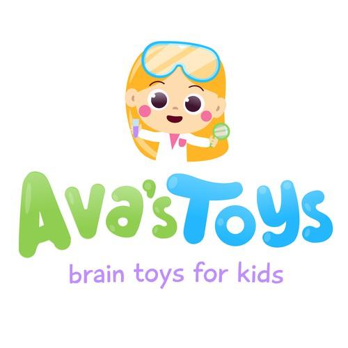 Logo design for a toy company