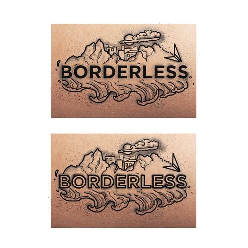 """Borderless"" Tattoo design"