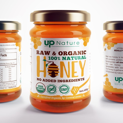 Label Design for Organic Honey