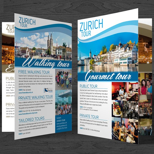 Zurich Tour brochure