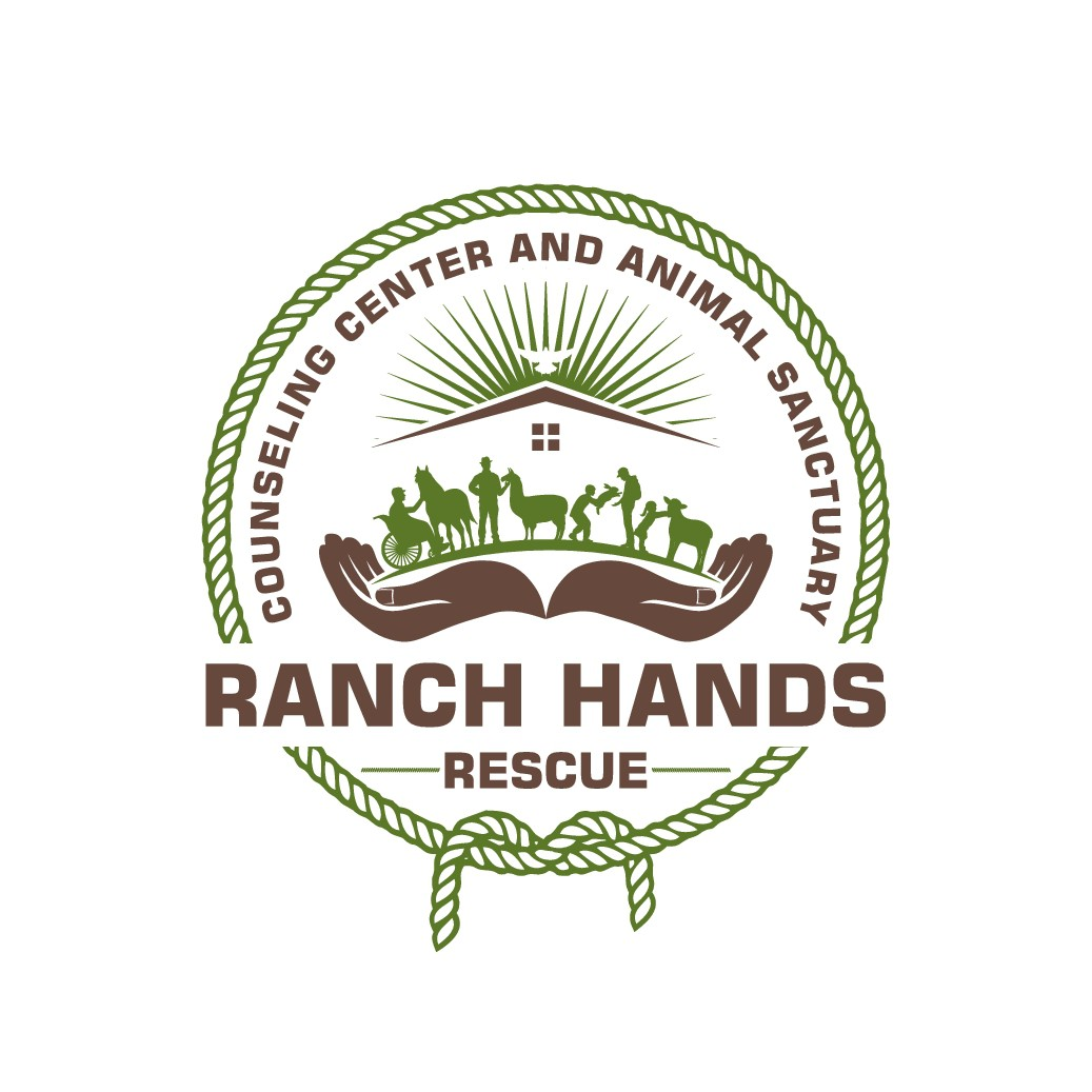 Design a trendy logo for Ranch Hands Rescue