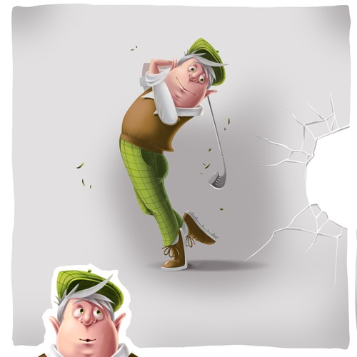 Create an avatar/character for new Golf Website