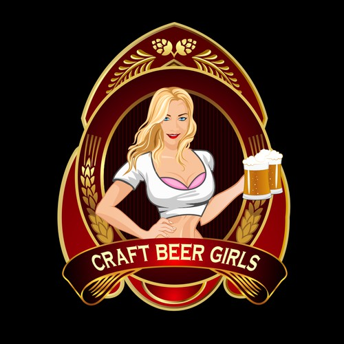logo for Craft Beer GIrls