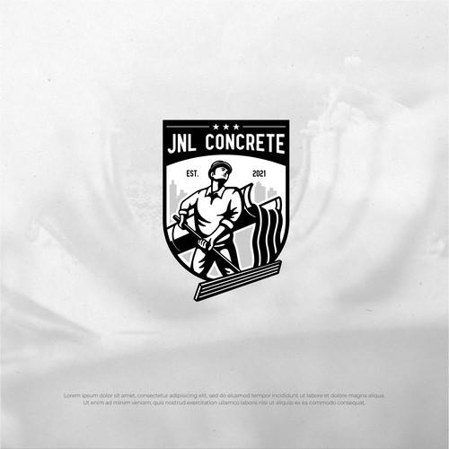 JNL Concrete logo