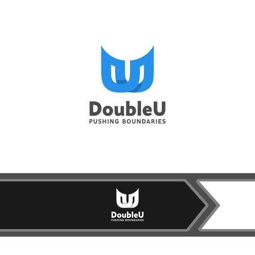logo concept for DoubleU