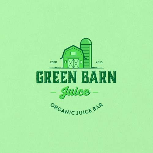 Vintage badge logo I did for juice co.
