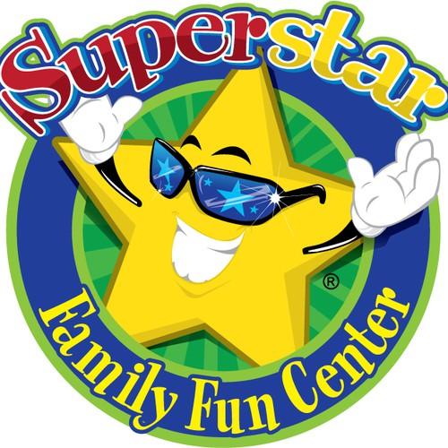 logo for Superstar Family Fun Center Inc.