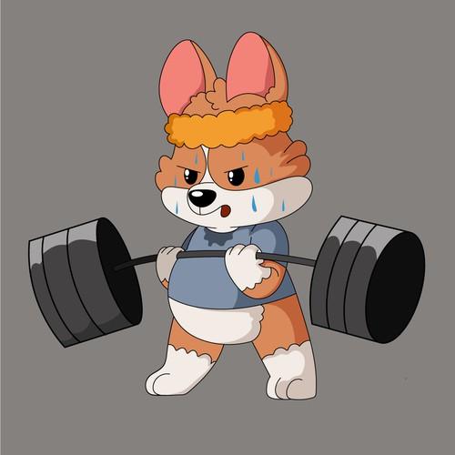 Workout Corgi