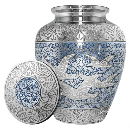 Majestic Wings of Love urn