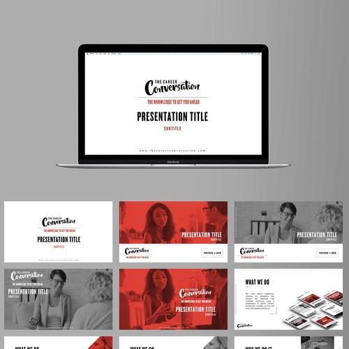 Powerpoint Template Design - Contest Winner