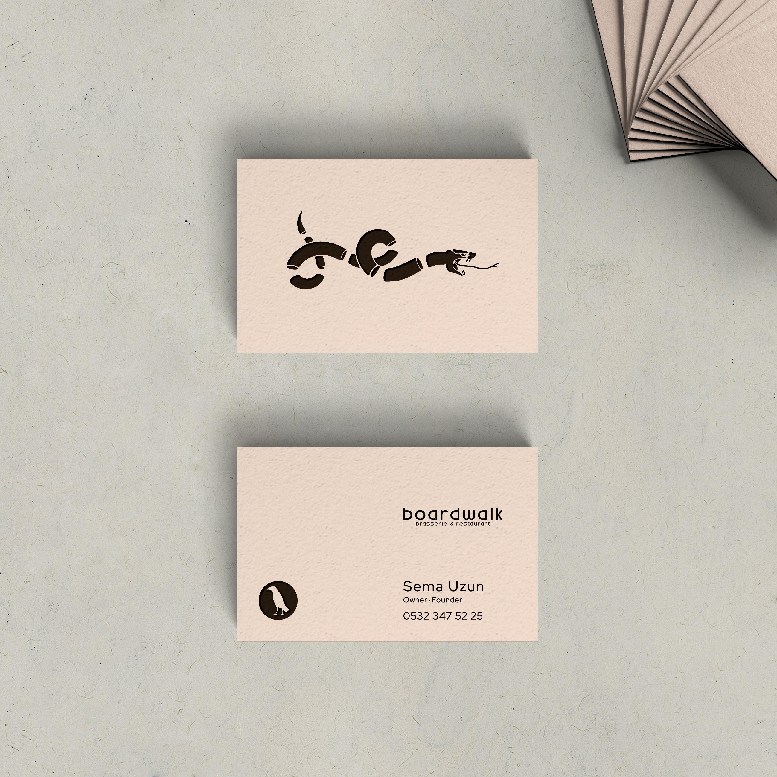 Restaurant Business Card Desing