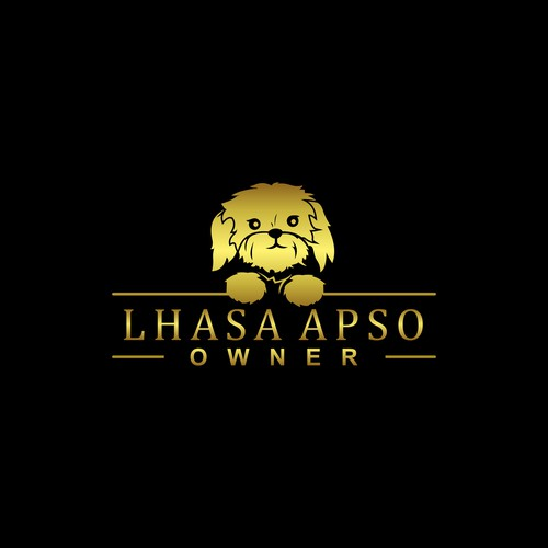 Design for website about Lhasa Apso dogs