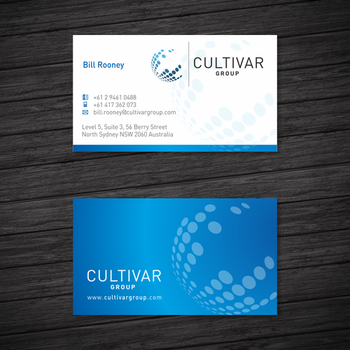 Create a fresh & modern colour palette & business cards to reinvigorate our brand!