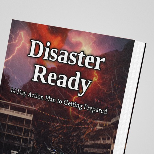 Disaster Ready Book Cover Design