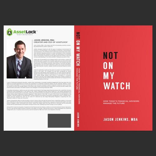 Book cover design for Jason Jenkins, MBA