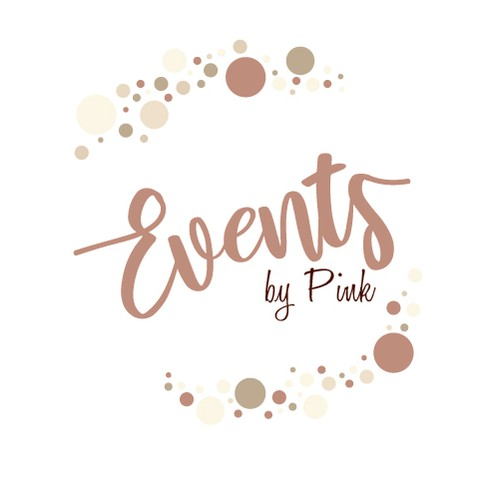 A delicate logo for a wedding planner agency