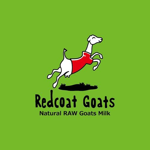 Fun logo for LaMancha goat milk producer