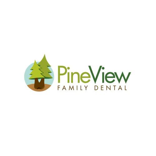logo for Pine View Family Dental