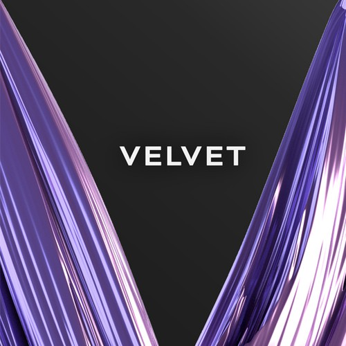 3D Logo desin for Velvet