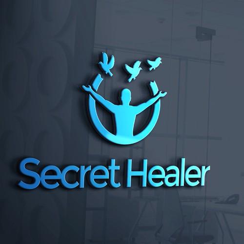 Logo for secret healer