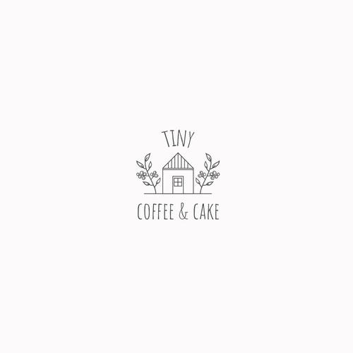 logo conceps for Tiny Coffee & Art