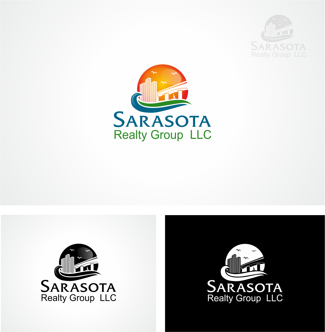 Help Sarasota Realty Group LLC with a new logo