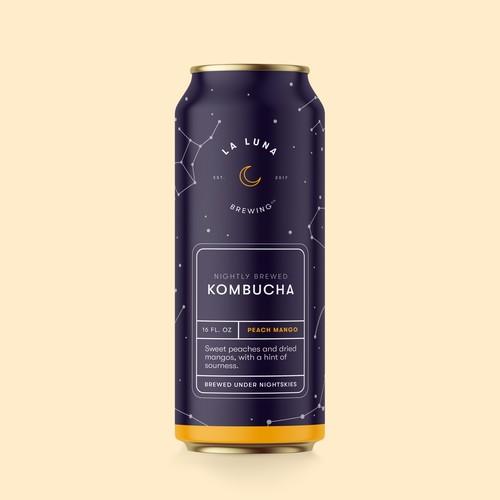 La Luna Nightly Brewed Kombucha