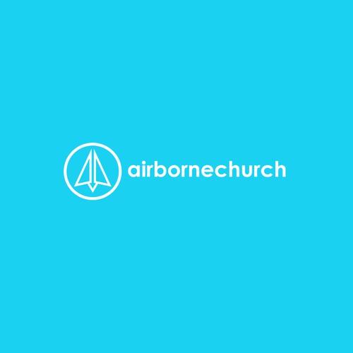 Logo design concept for airborne church
