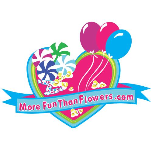Colorful, fun logo concept