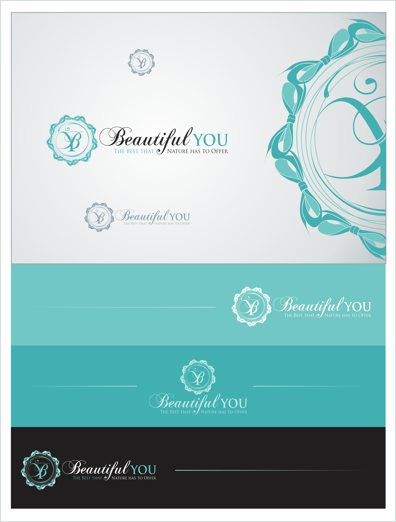 logo for Beautiful You