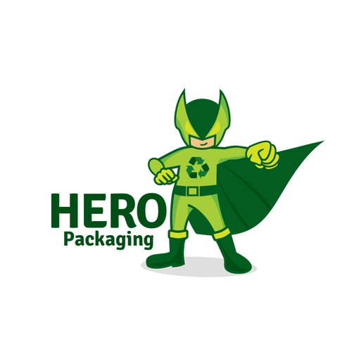 Hero inspired logo