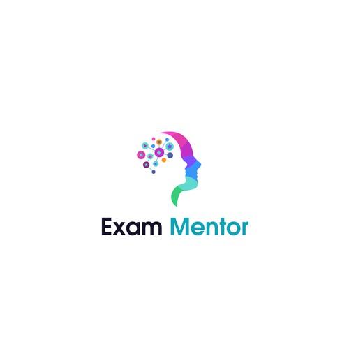 Exam Mentor Logo Design