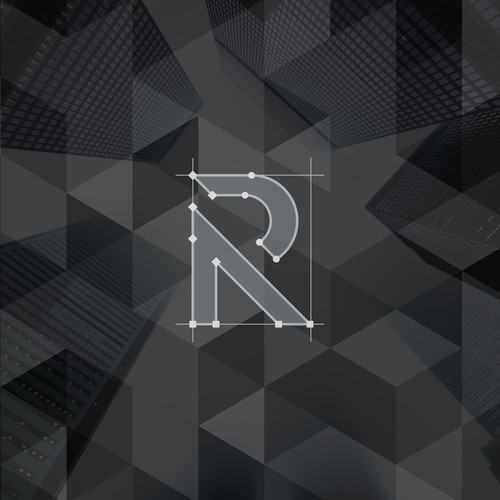 The letter R logo is a multipurpose logo