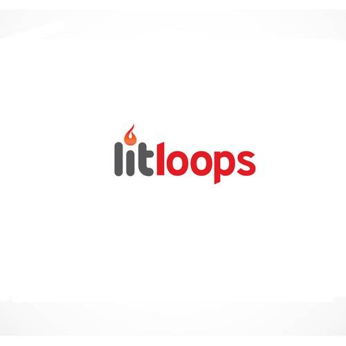 Logo for Lit Loops brand