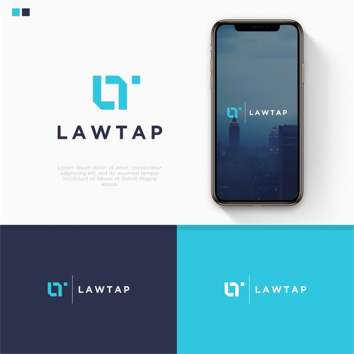 Logo for a Legal Tech Startup