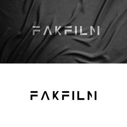 Modern Movie Stage- Wordmark Logo