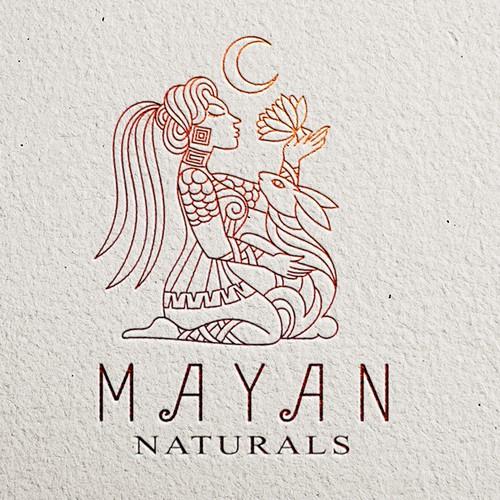 logo for Mayan Naturals