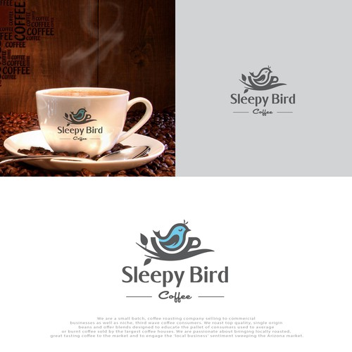 Logo for small batch, coffee roasting company!