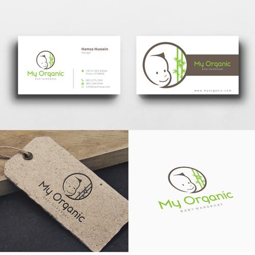 Create a luxury organic baby businesses brand!