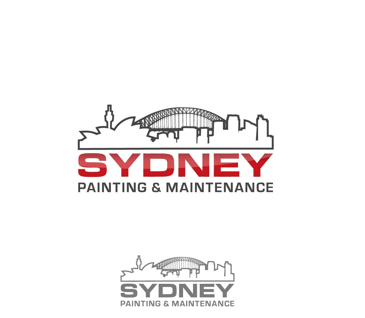 sydney painting & maintenance needs a new logo