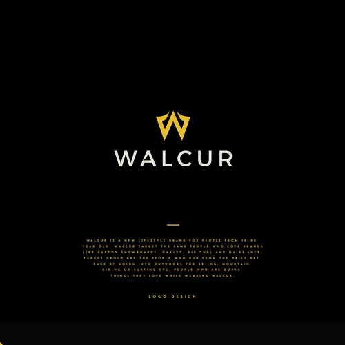 WALCUR Logo concept.