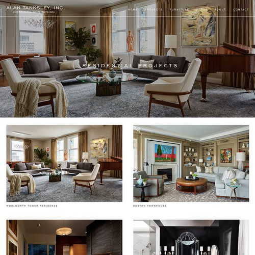 Interior Design Website