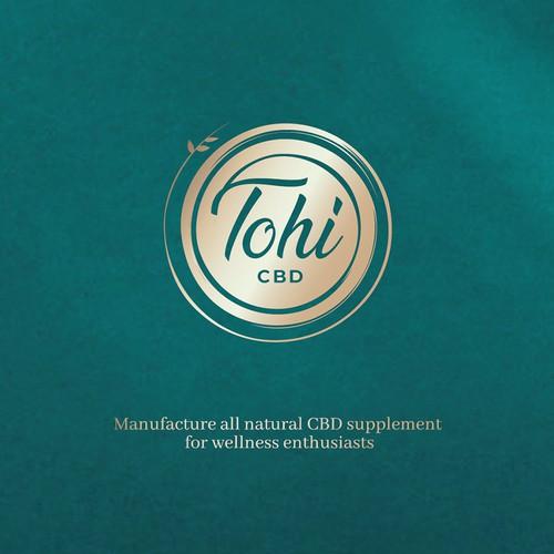Tohi CBD logo design