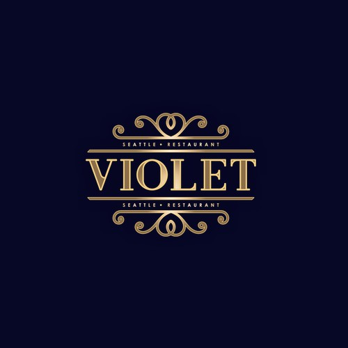 "Create a logo for Seattle restaurant and lifestyle brand ""Violet"""