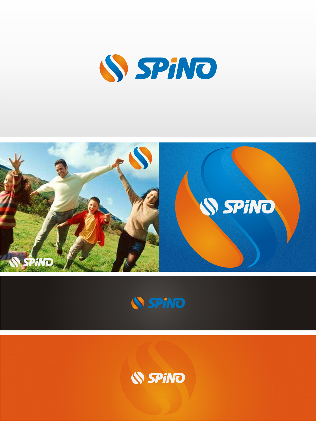 Create the next logo for Spino