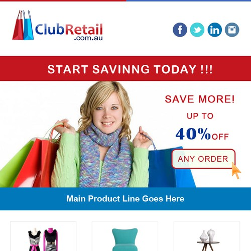 Help ClubRetail.com.au with a new email