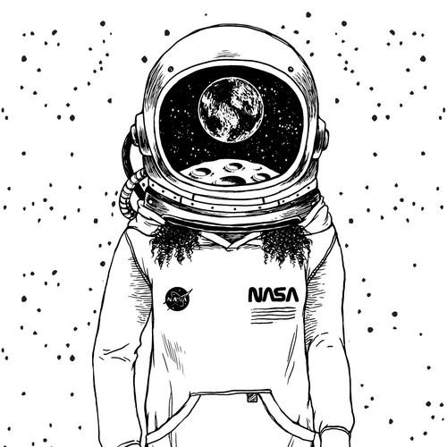Earthrise Astronaut
