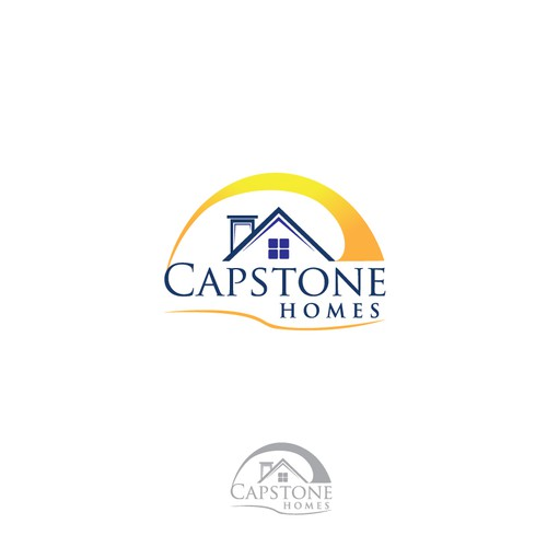 logo for Capstone Homes