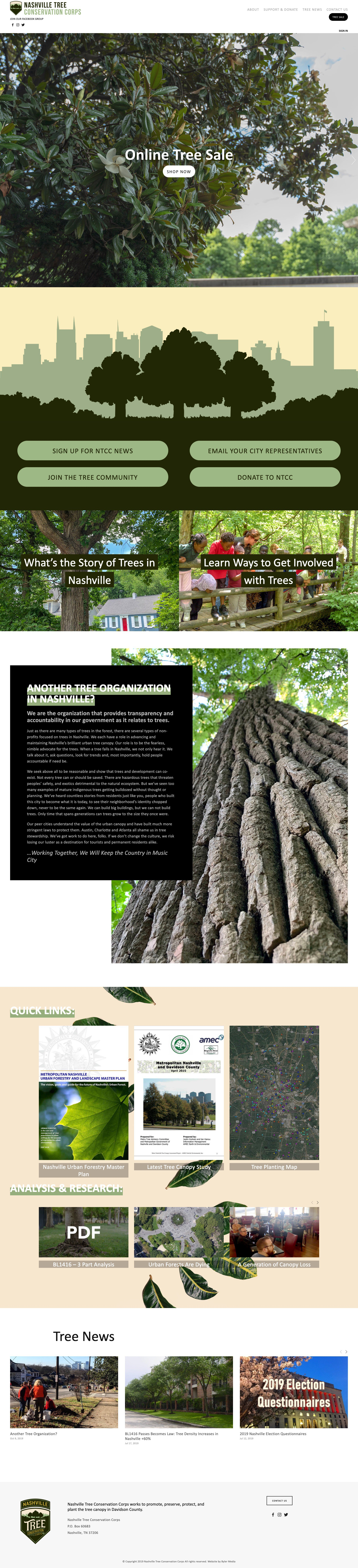 Nashville Tree Conservation Corps