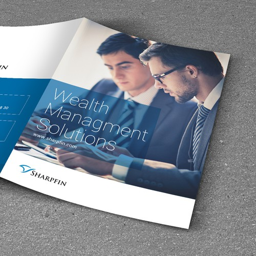 Marketing material for the next generation of wealth management software